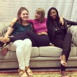 Jankowski (on the left) and her friend t with Taylor Swift.  Photo: Courtesy of Taylor Jankowski