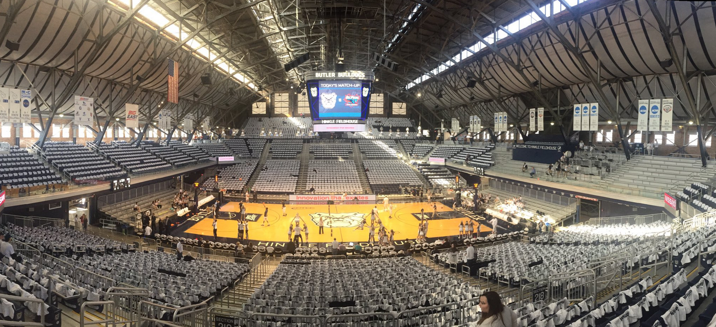 Butler University S Hinkle Fieldhouse Is Home To More Than Men S Basketball The Butler Collegian