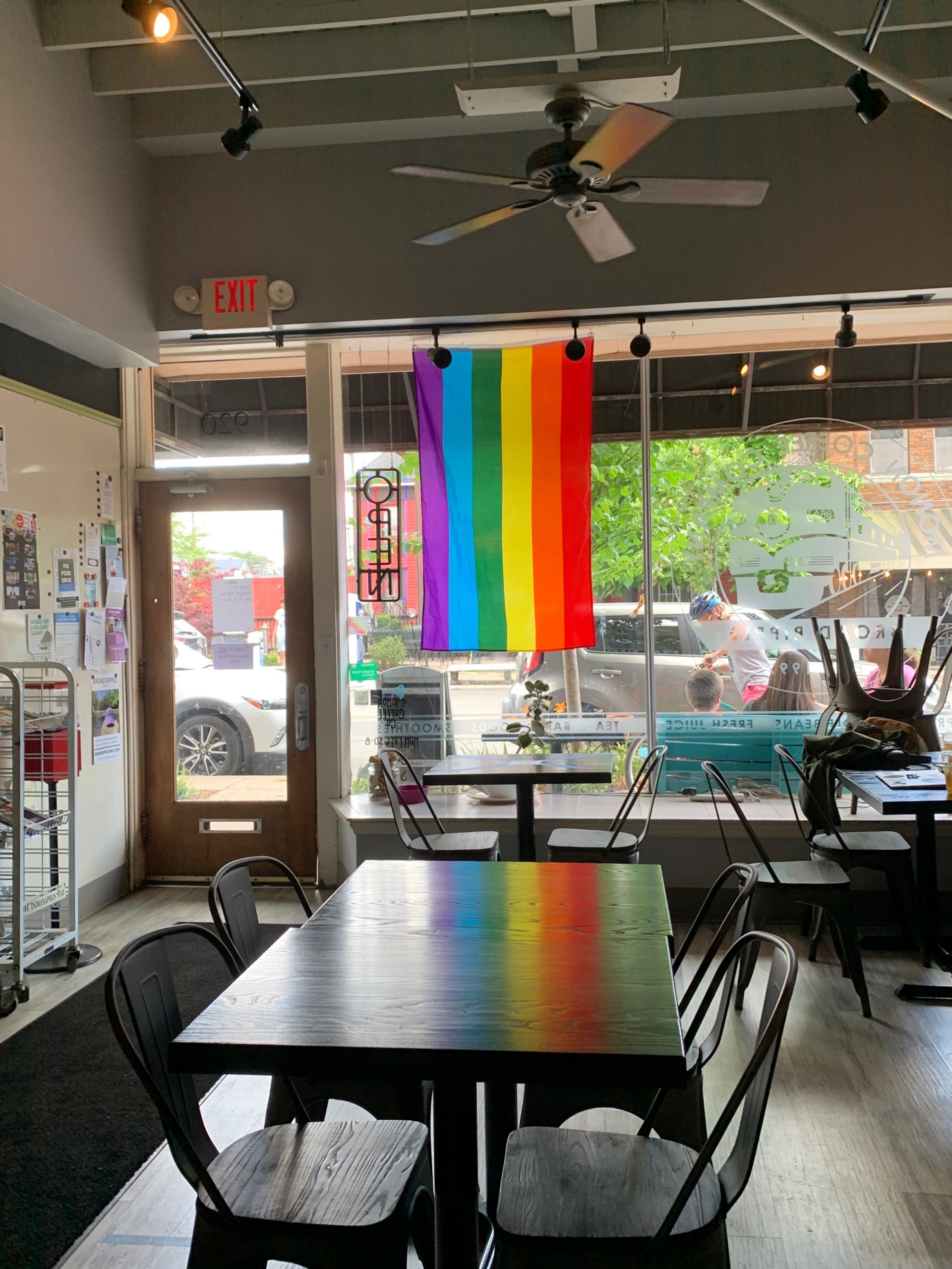 Five Indy coffee shops that promise social distancing. Photo courtesy of Emily Schlorf